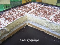 Emeletes élvezet Hungarian Cake, Winter Food, Cake Cookies, Food And Drink, Pudding, Sweets, Cakes, Gummi Candy, Cake Makers