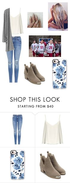 """""""Lacrosse game"""" by kendall-bostic ❤ liked on Polyvore featuring Frame, Raey and Casetify"""
