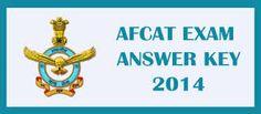 AFCAT Answer Key 2015 Download Answer Sheet, AFCAT 1 2015 and EKT Answer Keys,IAF AFCAT Answer Key 2015 PDF Format Download