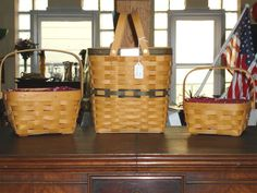 Longaberger Baskets . . . you cannot stop at just one.