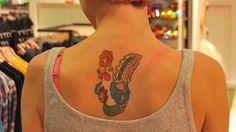 Молодой человек сделал татуировку в виде герба Кировской области | PROGOROD43.ru | Новости Кирова и Кировской области