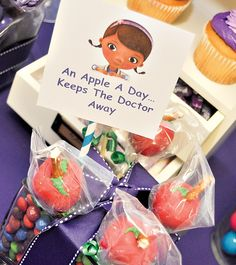 Pink and Purple Doc McStuffins Party // Hostess with the Mostess®