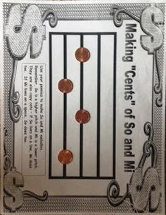 See A Penny - so and mi activity- I like the idea of using pennies instead of candy since we can't have candy in school anymore.