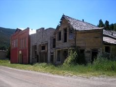 Marysville, Montana - It was a ghost town when I was there.  Now that the gold mine has been re-opened it is probably somewhat more gentrified