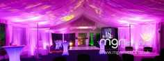 Leah's nightclub themed birthday party in a marquee - MGN Events Harry Birthday, 18th Birthday Party, Mom Birthday, Led Dance, All White Party, Guest List, 2 Months, Light Table