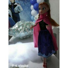 Decoração tema frozen para os 4 aninhos da Júlia
