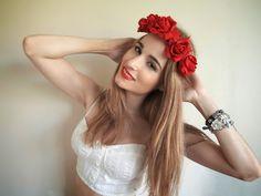 DIY: Cómo hacer una corona de flores elástica (petición popular)