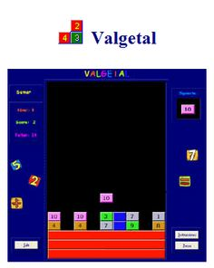 A couple of math strategy games available for download.