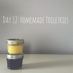 Zero Waste Nerd: 30 Days to Zero Waste (Day 12: Homemade Toiletries) #wastefreeliving