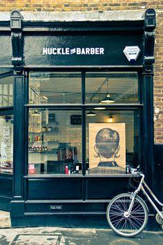 huckle the barber ++ 340, Old Street, EC1V 9DS London