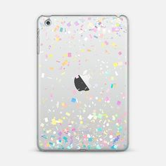 Pastel Confetti Explosion Transparent iPad Mini Case by Organic Saturation | Casetify. Get $10 off using code: 53ZPEA