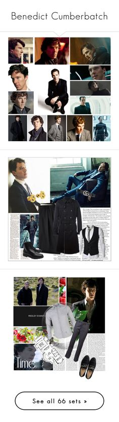 """""""Benedict Cumberbatch"""" by danicathorne on Polyvore featuring arte, moda, RoomMates Decor, Whiteley, Style Stalker, PLANT, By Terry, Dolce&Gabbana, Juicy Couture e Topman"""