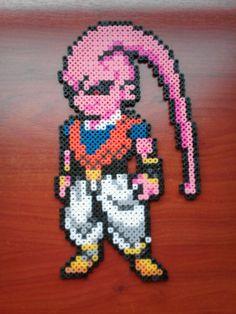 "Buu ""Fusionado con Gohan"" (Dragon Ball) Hama Beads"