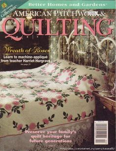 American Patchwork & Quilting april 1997 with patterns and templates