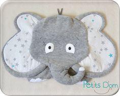 Doudou plat Elephant