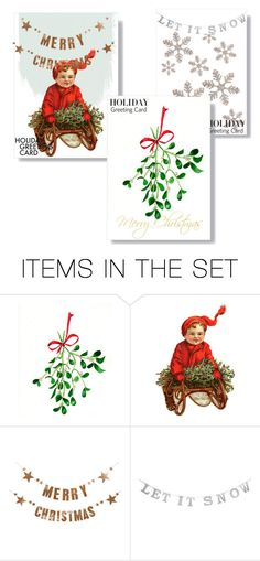 """""""Untitled #120"""" by elizabeteree ❤ liked on Polyvore featuring art, holidaygreetingcard and PVStyleInsiders"""