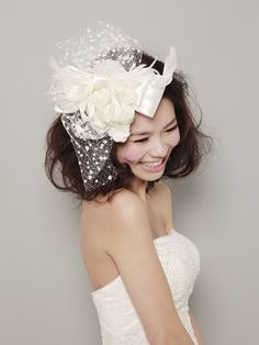 acchi Bridal Sash, Headpiece Wedding, Wedding Veils, Wedding Dresses, Bridal Hair Accessories, Hair Jewelry, Hair Inspiration, Wedding Styles, Wedding Hairstyles