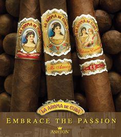 Ashton, Cigars, La Aroma de Cuba by Janny Dangerous Whisky, Cigars And Whiskey, Cigar Humidor, Cigar Boxes, Ashton Cigars, Cuba Cigar, Cigar Art, Cigar Smoking, Smoking Pipes
