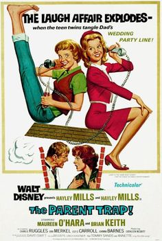 Promotional poster for The Parent Trap