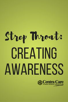With spring comes the season of illnesses like strep throat, which is a bacterial infection caused by a germ called Group A Streptococcus bacteria . It is more common in children than in adults and makes the throat feel sore and scratchy.  #Health #Florida #Tampa #UrgentCare #CentraCare #TampaBay #CentralFlorida #InstaHealth #lifestyle #medicine #doctor #mhealth #hcsm #HealthTalk