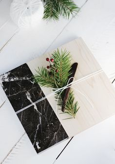DIY Marble Cutting Board @themerrythought
