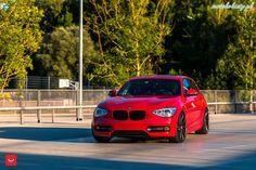 BMW serii 1 Vossen #bmw #vossen #wheels #car #tuning
