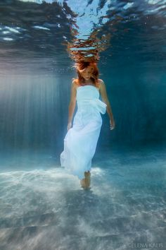 Emptiness - Blog - Underwater Photography #photography #water #model