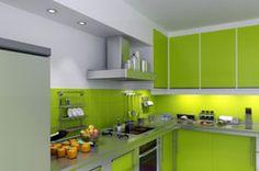 Neuer Look? Küchenfronten einfach bekleben, Anleitung.