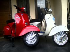 My Red & White Sprint Veloce..