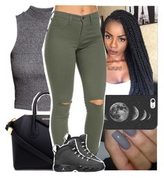 """""""i wanna love you, pretty young thing. you need some lovin'"""" by lamamig ❤ liked on Polyvore featuring H&M, Color Club, Casetify, Givenchy and Retrò"""