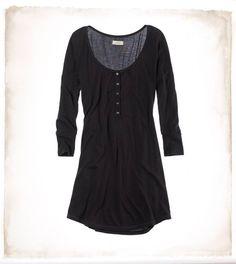 Aerie Softest Henley Sleep Shirt