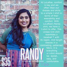 LuLaRoe Randy Tee :) http://860.boutique
