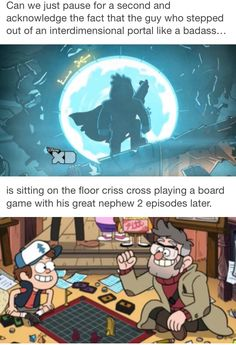 This why I love Gravity Falls