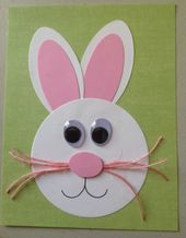Discover recipes, home ideas, style inspiration and other ideas to try. Art Activities For Toddlers, Easter Crafts For Toddlers, Animal Crafts For Kids, Holiday Crafts For Kids, Toddler Crafts, Preschool Crafts, Art For Kids, Easter Art, Easter Bunny