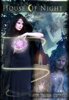 House of Night Series by P. Science Fiction, Good Books, My Books, House Of Night, Earth Spirit, Romance, Night Photos, Classic Books, Antique Books
