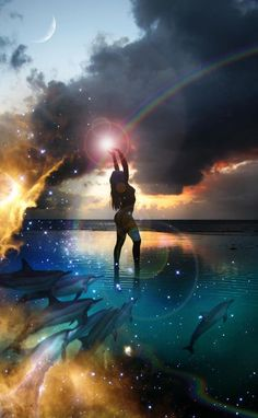 Dearest Universe...as i walk upon your shores...i feel your deepest warmth within my belly...bubbling up as golden showers of stardust sighing....THANK YOU! <3  .... (aria/ashe )