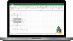 Plantilla Para el Calculo Estructural de una Vivienda de Dos Niveles en Excel