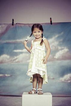 Girls layered dress by Portchie Gear www.portchiegear.co.za