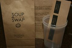 Soup swap! This would be such a great idea for the fall...or even better, the doldrums of January or February.