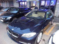 BMW 520 TOURING X DRIVE PELLE C/AUTOM. NAVI TETTO BIXENON - 0
