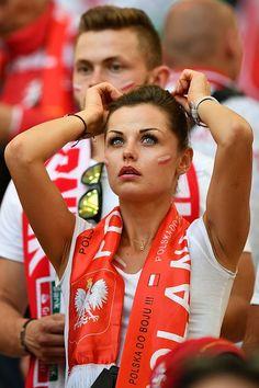 Fan Supporter Supportrice Torçedora Hincha Fútbol Football Futebol Polska Poland World Cup Russia 2018 Hot Football Fans, Football Girls, Soccer Fans, Football Match, Soccer World, World Football, Psg, Ronaldo, Fifa