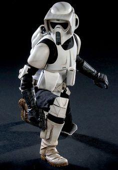 Star Wars: Scout Trooper, PVC Figur ... http://spaceart.de/produkte/sw029.php