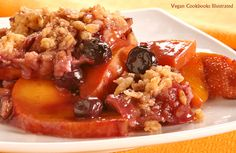 Vegan Stovetop Fruit Crisp from the cookbook Quick-Fix Vegan