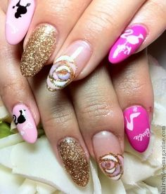fashionable acrylic nails Collection of Chic Acrylic Nail Art designs to Make you spellbound!