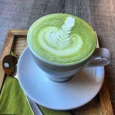 Matcha latte in Ostrava Czech rep