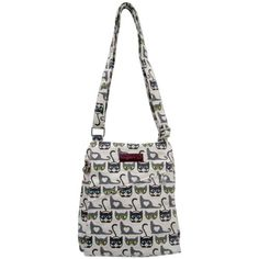 Bungalow 360 Small Vegan Messenger Bag  Cat ** Continue to the product at the image link.