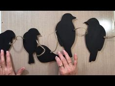 DIY - String of Birds