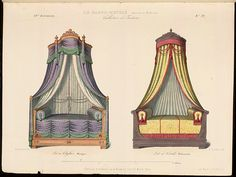 Directoire Beds 19th century.