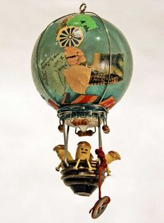 Souther Salazar - love his little sculptures from re-purposed items - especially his hot air balloons!
