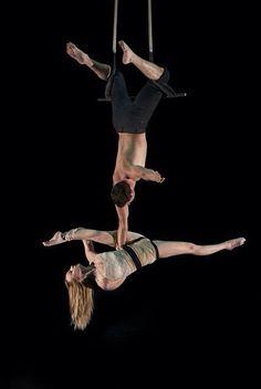 Doubles trapeze.